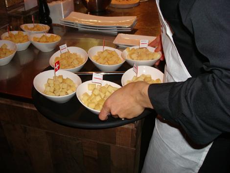 formaggi svizzeri per la degustazione da Anytime!