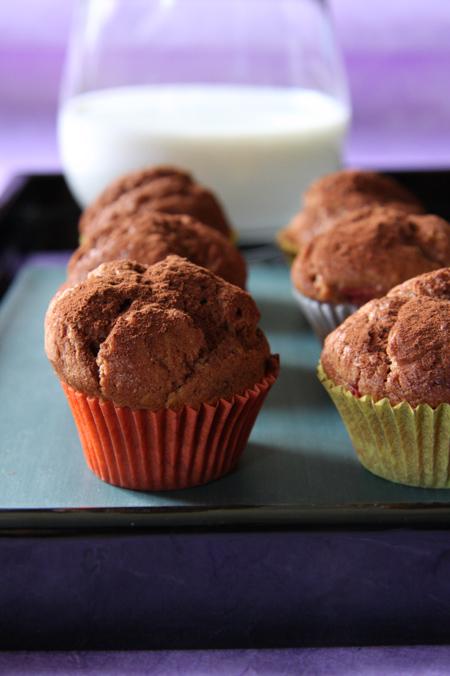 © muffin alle nocciole e cacao