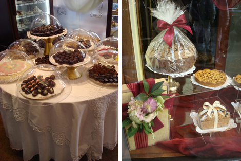 dolci e praline della Pasticceria San Carlo