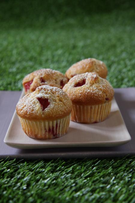 © muffin alle fragole