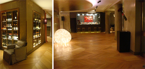 Hotel Rosa Grand: wine cellar del Roses e Grand lounge & bar