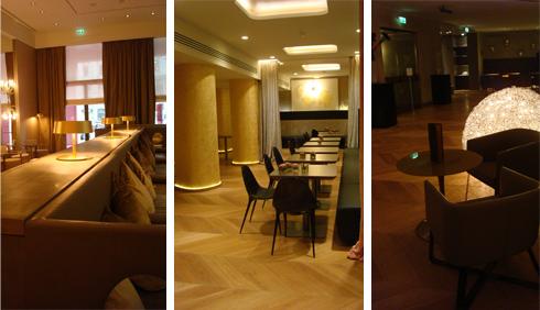 i tre ristoranti dell'Hotel Rosa Grand