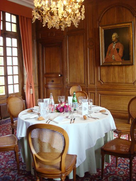 © Sala da pranzo nello Château de la Marquetterie