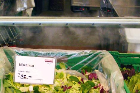 insalate vaporizzate