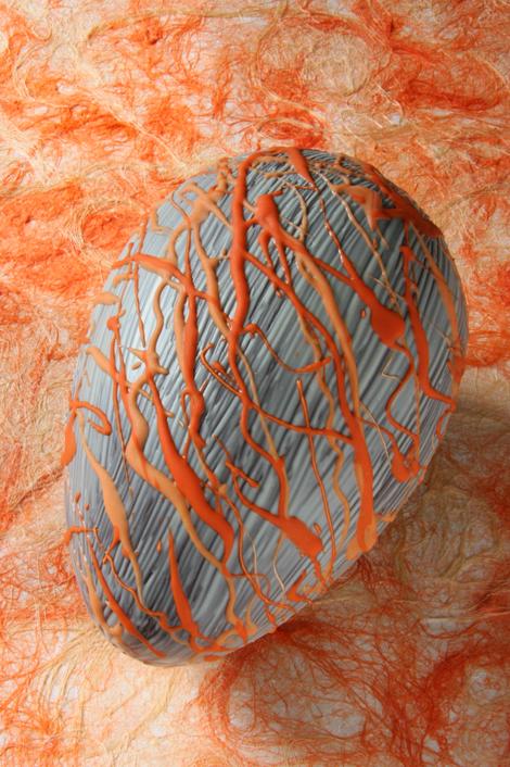 © Uovo di Pasqua Caffarel decorato da Sandra Longinotti