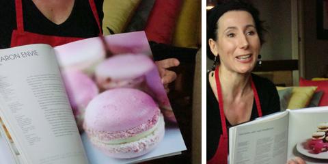 Sophia Bapt ci parla dei macarons prima di andare in cucina