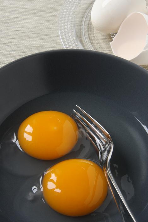 © uova d'oca scocciate