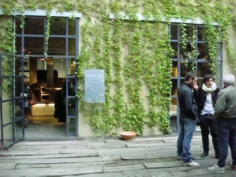 l'Atelier Scholtès al Circolo Marras durante il FuoriSalone 2010