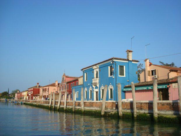 arrivo all'isola di Mazzorbo | ©foto Sandra Longinotti