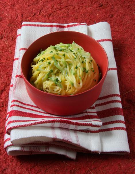 © Taglierini alle zucchine e mascarpone