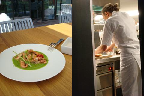 ristorante Venissa: le schie preparate da Paola Budel
