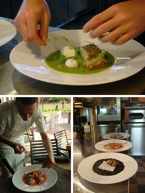 ristorante Venissa, back-stage del servizio per Grazia