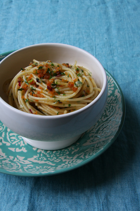 Spaghetti alla bottarga, | ©foto Sandra Longinotti