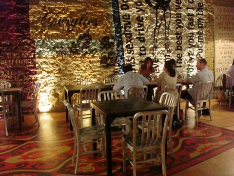ITEM Burger Lounge - sala