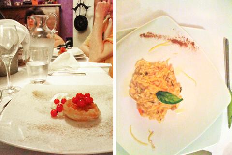 Scholtès@home - il risotto e la mini Tarte Tatin