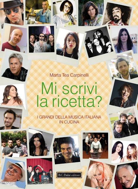 """libro """"Mi scrivi la ricetta?"""" di Marta Tea Carpinelli"""