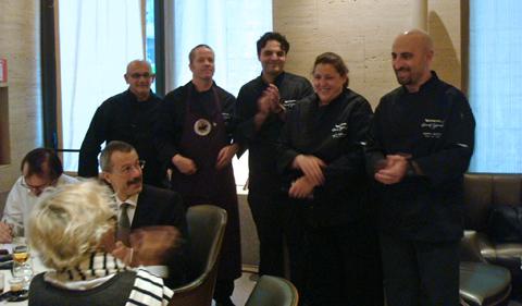 i 5 chef che hanno cucinato col caffè Nespresso