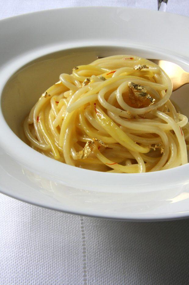 SpaghettOro e zafferano | ©foto Sandra Longinotti