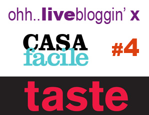 live blogging da Taste 2011 – #4 Tablecloths