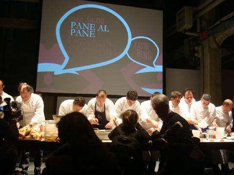 © Taste 2011 - 7 Cavalieri della Cucina Italiana interpretano il pane
