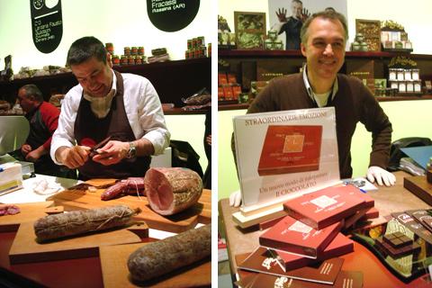 © Taste 2010 - Simone Fracassi della Macelleria Fracassi, Fabio Gardini di F.lli Gardini