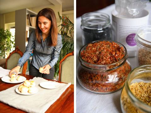 Sandra Longinotti - sali utilizzati per il pane (foto Stefania Sainaghi)