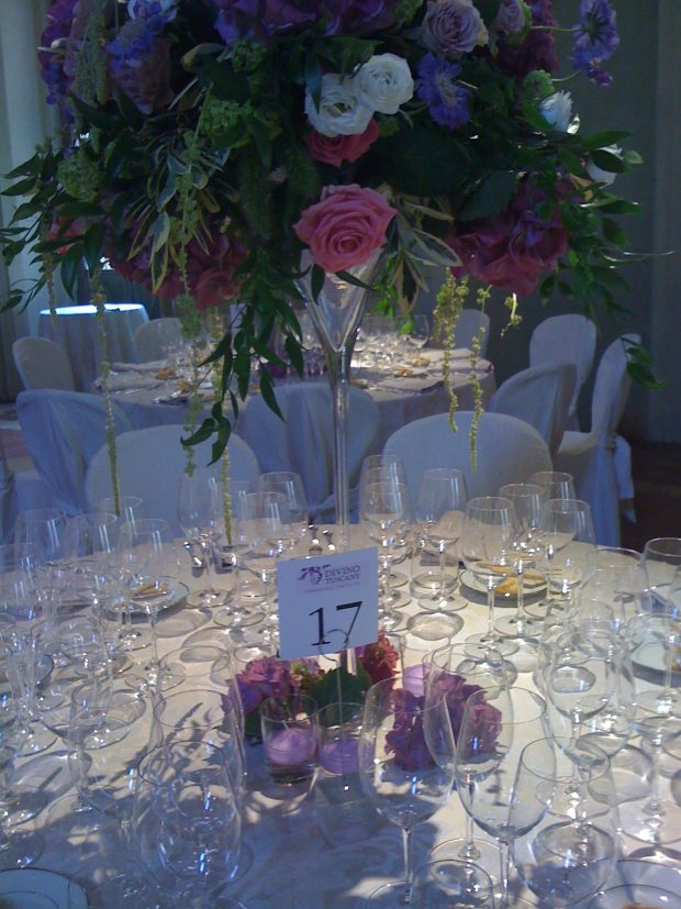 Divino Tuscany, la cena di gala a Palazzo Corsini | ©foto Sandra Longinotti