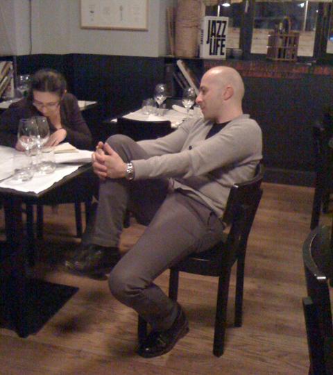 © Cristina Viggé intervista Niko Romito (eh sì, Cristina sa farti sentire a tuo agio! ;)