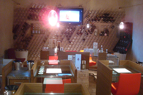 © IFSE, l'Aula degustazione vini