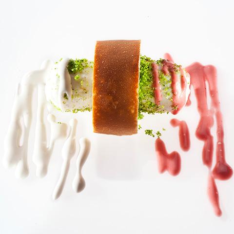 hot-dog di seppia di Moreno Cedroni