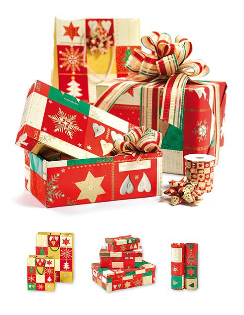 carte,nastri e fiocchi Brizzolari per Natale