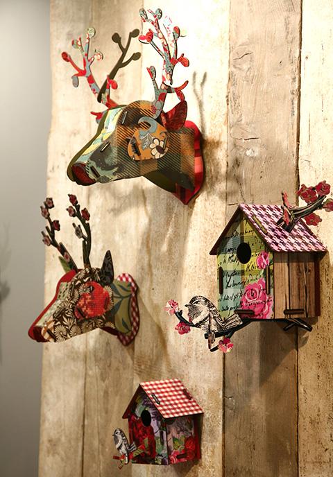 trofei e casette indoor per uccellini di MIHO