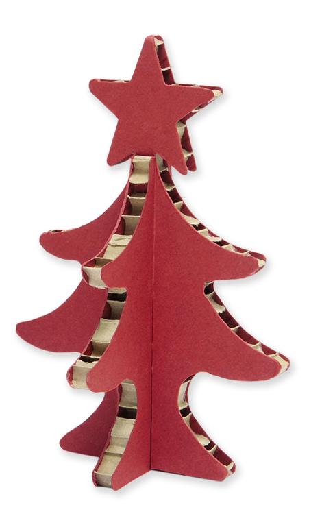 Xmastree in cartone di A4Adesign