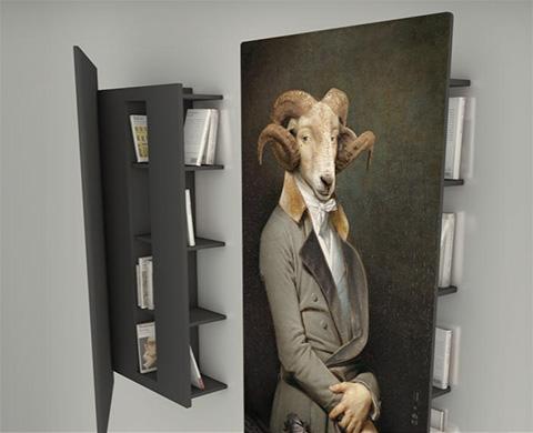 Librerie ibride come quadri - Les dandys ibride ...