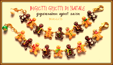 bijoux natalizi against racism di Bigiotti Ghiotti