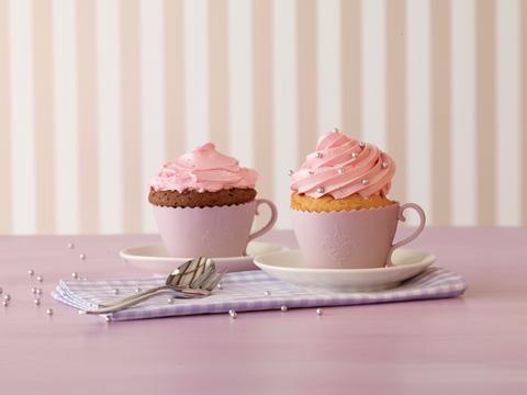 stampi in silicone a forma di tazza per cupcake, di Birkmann