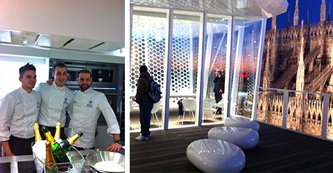 © The Cube a Milano, gli chef Christian e Manuel Costardi e la terrazza