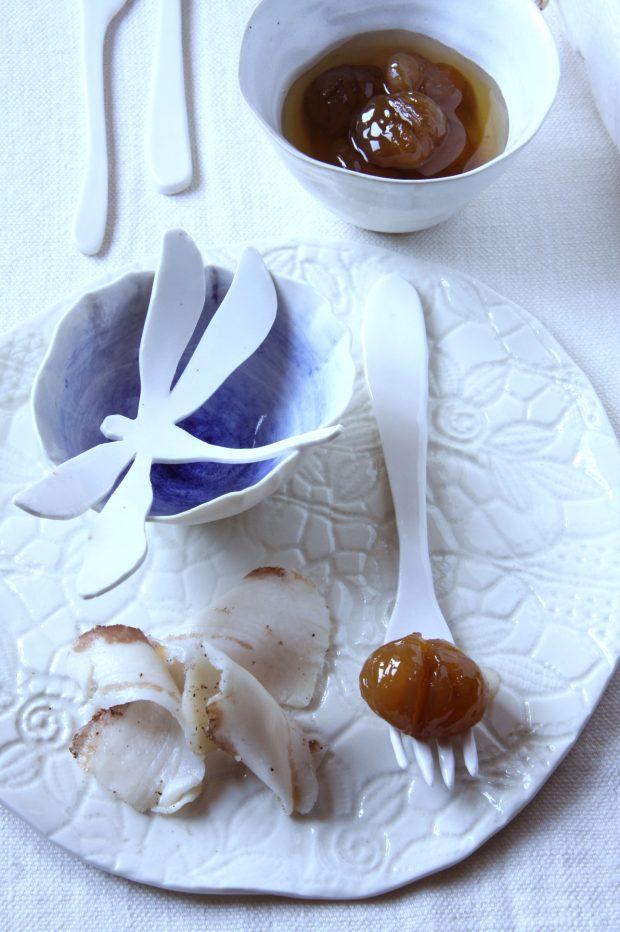 Castagne e lardo | ©foto Sandra Longinotti