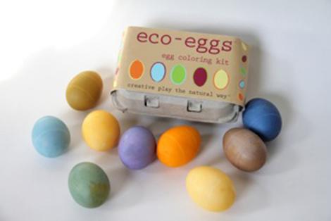 tinte naturali per uova di Eco Kids®