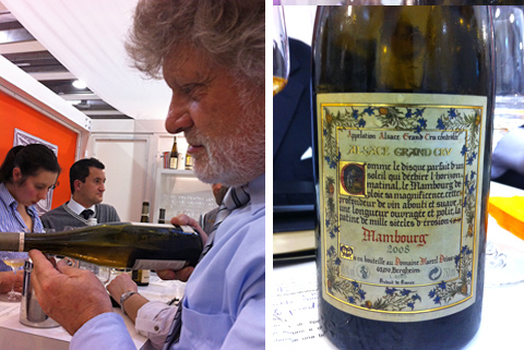 © Jean-Michel Deiss e il Mambourg Grand Cru 2008 Domain Marcel Deiss