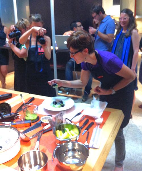 © Romina assaggia il piatto finito (slurp!)