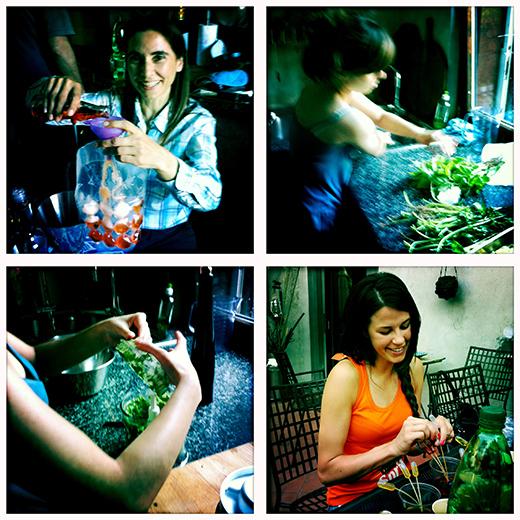 © preparativi per il buffet #spritzathome