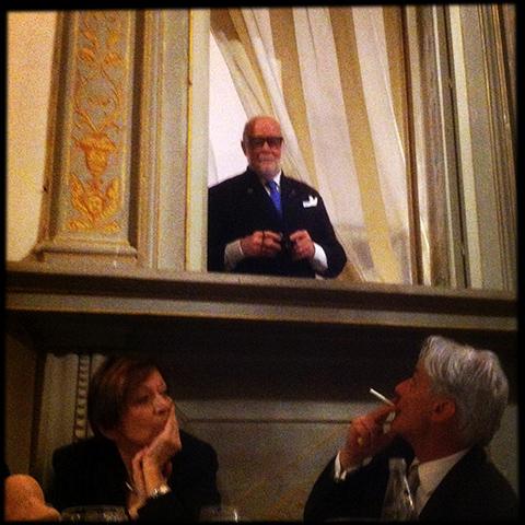 ©Renato Missaglia a Villa Corsini durante la cena di gala di Italia a Tavola
