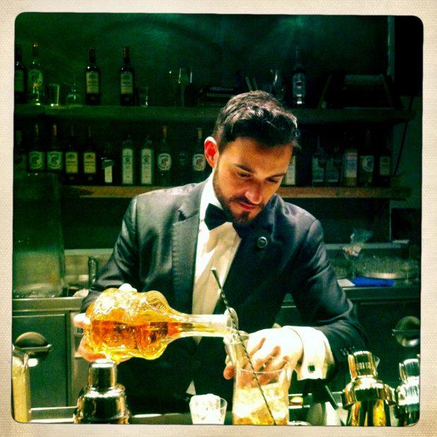 i cocktail del proibizionismo interpretati dal bartender Guglielmo Miriello da Dry by Pisacco | ©foto Sandra Longinotti