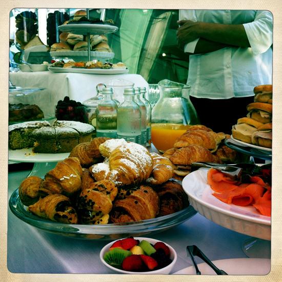 colazione a La Rinascente | ©foto Sandra Longinotti