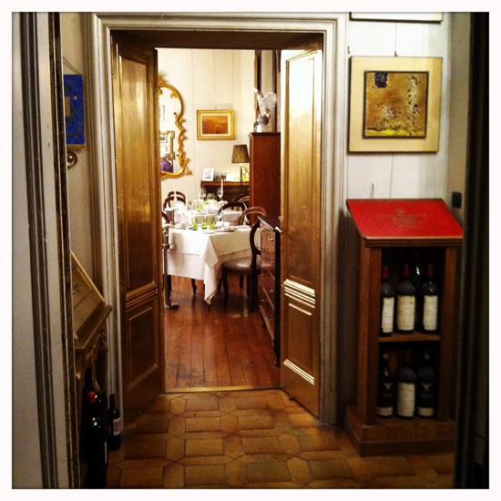 L'Aquila Romana, ingresso alla sala (©foto Sandra Longinotti)