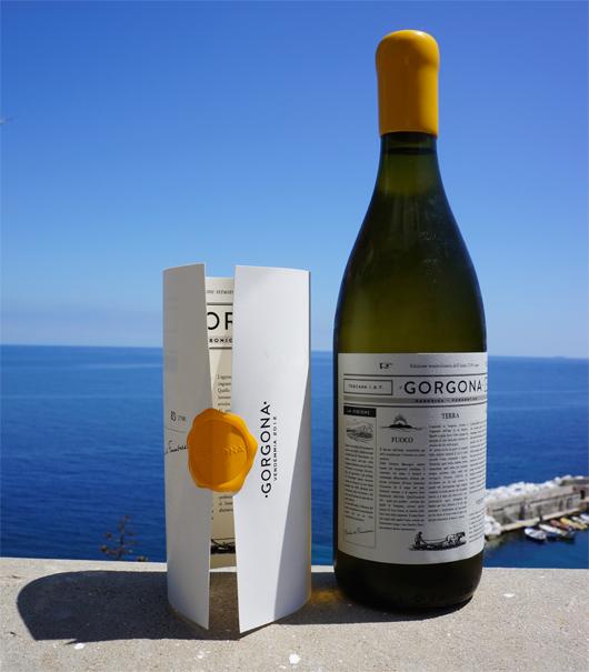 Gorgona, il vino prodotto da Marchesi de' Frescobaldi in collaborazione coi detenuti del carcere sull'isola