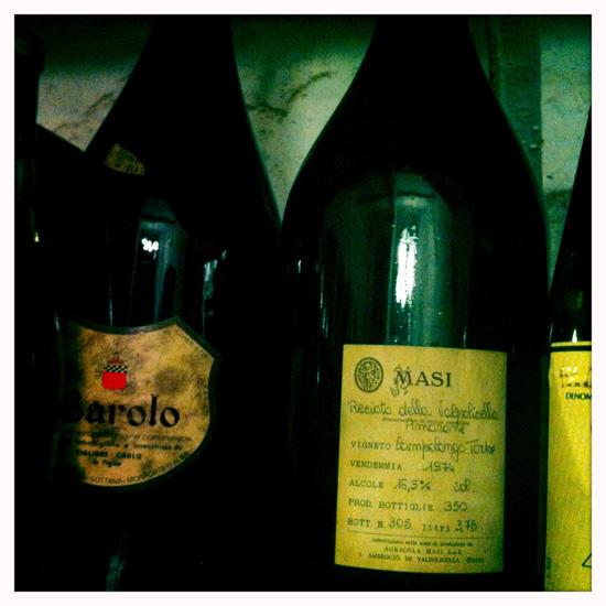 1928, vini d'antiquariato (©Sandra Longinotti)