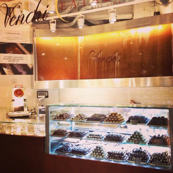 Eataly Smeraldo, cioccolato Venchi (©Sandra Longinotti)