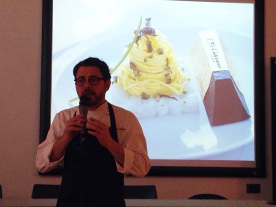 Stefano Cerveni parla del Lingotto Calvisius | ©foto Sandra Longinotti